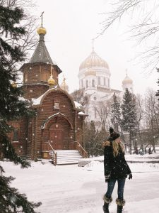 Russia in winter